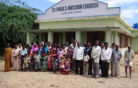 Mission Field - Andhra Pradesh - G D Nelloore