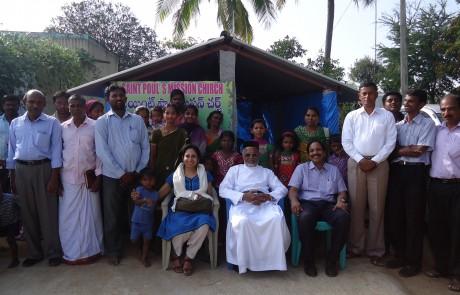 Mission Field - Andhra Pradesh - Ganakachintha Tatkalika Chapel