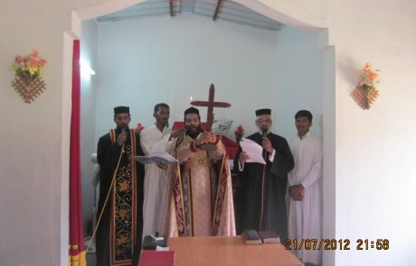 Mission Field - Andhra Pradesh - Piler Chapel Sacrament 2012