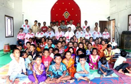 Mission Field - Assam - Assam Inside Church
