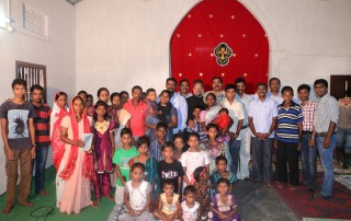 Mission Field - Assam - Believers and Our Missionaries in Our Church