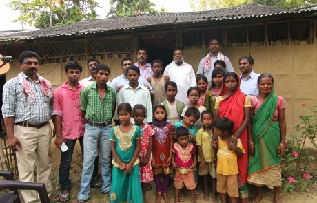 Mission Field - Assam - Believers with Our Missionaries