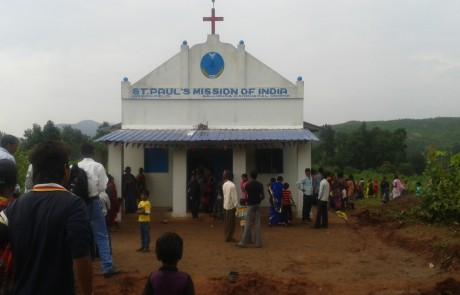 Mission Field - Orissa - Chapel