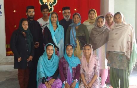 Mission Field - Punjab - Chapel, Believers, Missionaries