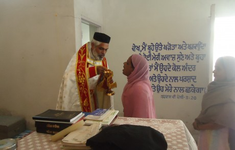 Mission Field - Punjab - Holy Mass in Chapel