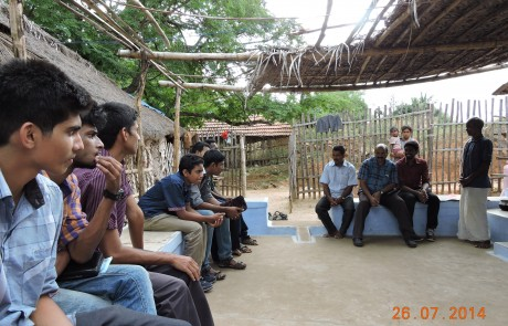 Mission Field - Tamil Nadu - Field Visit by Youth Mission