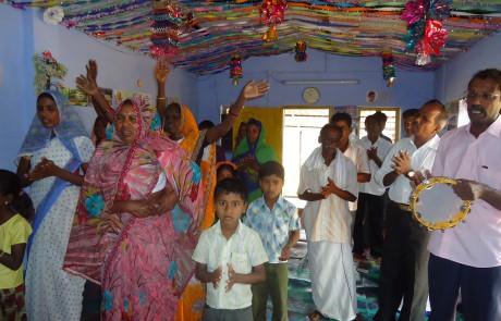 Mission Field - Tamil Nadu - Workship in Chapel